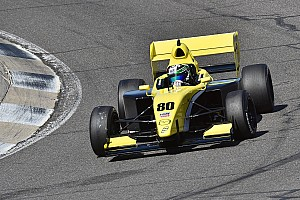 Pro Mazda Breaking news Team Pelfrey dominates Pro Mazda testing, Lloyd tops USF2000