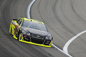 NASCAR Sprint Cup Practice report Menard leads second Cup practice at Kansas