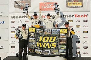 IMSA Breaking news Corvette boss pays tribute to drivers for 100th IMSA win