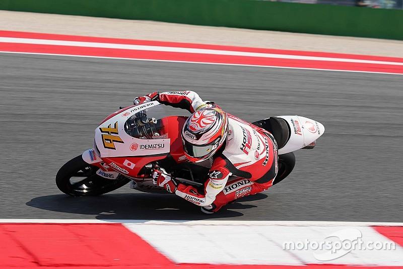 尾野弘樹「決勝でも頑張れる。ベストリザルトを」:Moto3サンマリノ予選