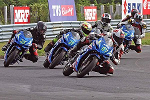 Other bike Race report Chennai Suzuki Gixxer: Vidhuraj, Rajnikanth, Gladwin score wins