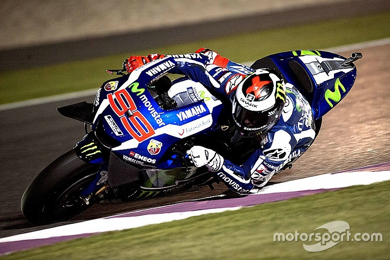 Qatar MotoGP: Lorenzo takes pole after qualifying thriller