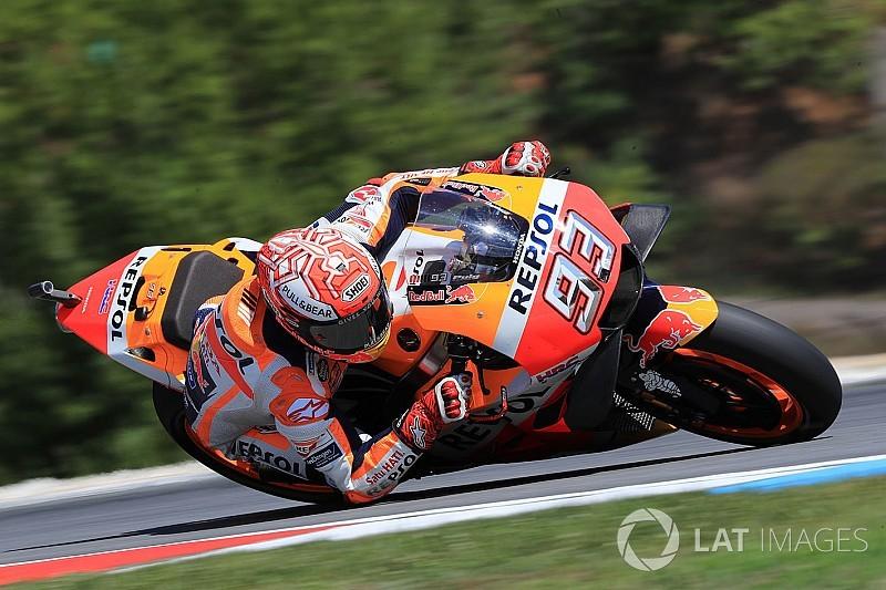 Valentino Rossi monte à 6000 en République tchèque — MotoGP