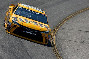 NASCAR Sprint Cup Practice report Kyle Busch and Toyota lead first Sprint Cup practice at Richmond