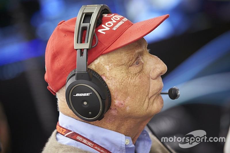 Niki Lauda lascia l'ospedale
