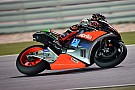 First race of the season for Aprilia