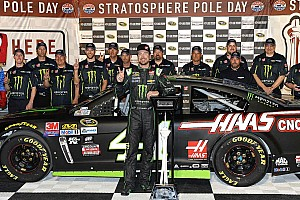 NASCAR Sprint Cup Qualifying report Kurt Busch takes second straight pole of 2016