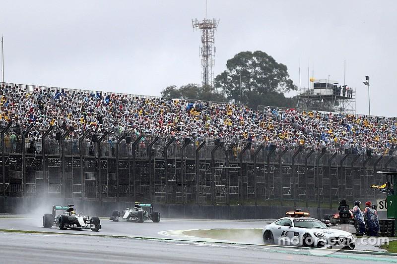 Brazil last question mark on 2017 F1 calendar, says Ecclestone