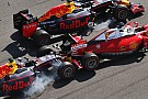 Formula 1 Vettel vents fury after Kvyat double hit