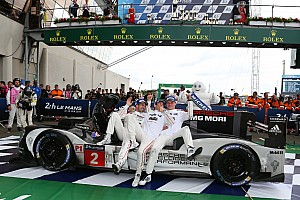 Le Mans Race report Le Mans 24 Hours: Porsche snatches win as Toyota self-destructs