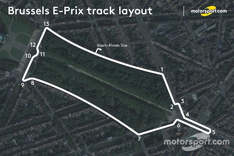 【フォーミュラE】今季ブリュッセルePrix開催地をホー・ピン・タンが視察