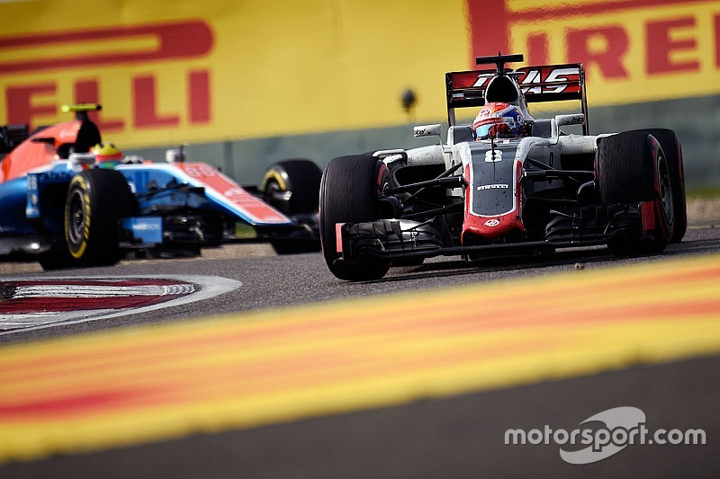 New front wing to blame for Grosjean's handling woes in China