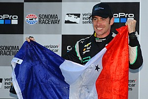 """IndyCar Breaking news Pagenaud: """"I feel so blessed"""""""