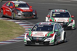 WTCC Breaking news Honda gets maximum ballast for first time in 2016 at Motegi