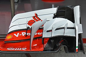 Formula 1 Analysis Bite-size tech: Ferrari SF16-H differing front wing configurations
