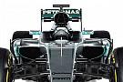 New Mercedes F1 car breaks cover