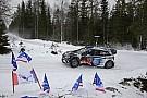 WRC Sweden WRC: Paddon closes on Ogier as Meeke crashes