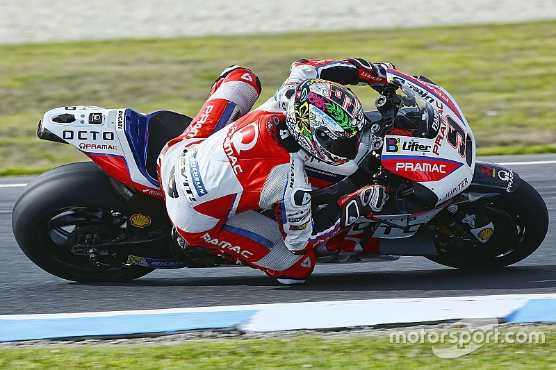 Petrucci tops wet first day at Phillip Island
