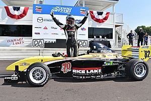 Pro Mazda Race report Telitz thrashes his rivals for second time in one day