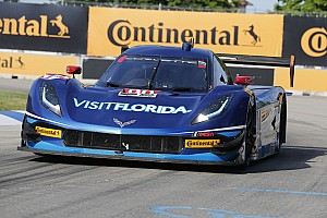 IMSA Qualifying report Visit Florida Racing Chevy on Belle Isle front row