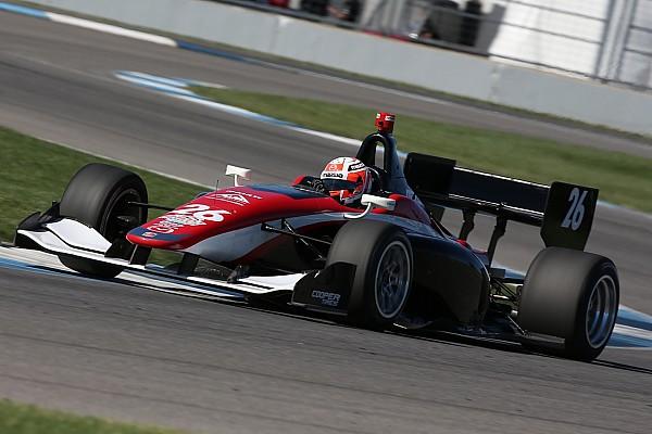Indy Lights Testing report Jamin, Franzoni, Megennis lead Mazda Road To Indy test