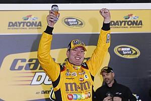 NASCAR Sprint Cup Race report Multi-car wreck erupts as Kyle Busch wins Duel No. 2
