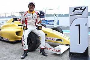 Formula 4 SEA Race report Clark F4: Gowda takes his first two wins
