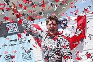 IndyCar Race report Power holds off charging Kanaan to win in Road America