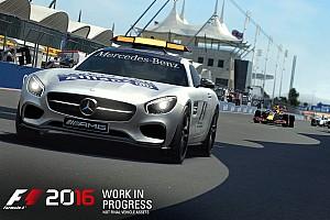 Jeux Video Actualités F1 2016 arrive cet été, avec la voiture de sécurité!