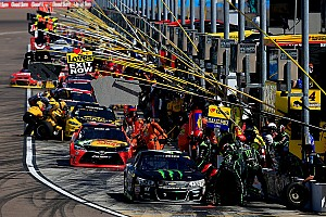 NASCAR Sprint Cup Analysis Drivers continue to pay the price as teams push for faster pit stops