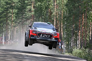 WRC Leg report Solid start for Hyundai Motorsport as Neuville holds third in Finland