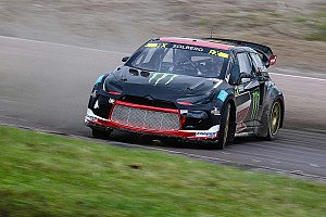 World Rallycross Practice report Sweden WRX: Solberg quickest in damp Friday practice
