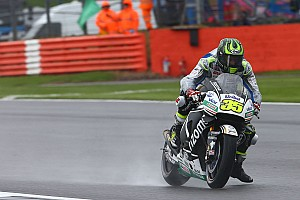 MotoGP Qualifying report Silverstone MotoGP: Crutchlow masters rain for home pole