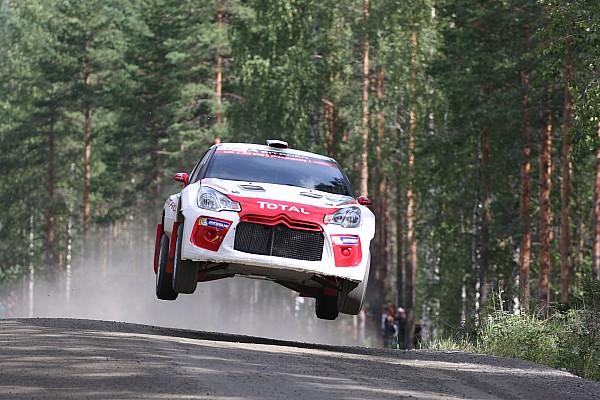 WRC Breaking news Gilbert to make WRC debut with Citroen in Wales