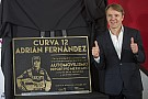 Formula 1 Adrian Fernandez has corner named after him in Mexico City