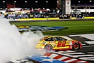 NASCAR Sprint Cup Joey Logano takes All-Star win after battling Larson