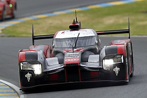 Le Mans Race report Positions three and four for Audi at Le Mans