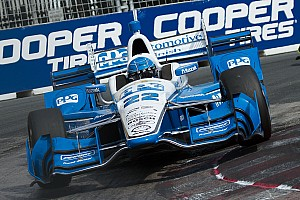 "IndyCar Breaking news Pagenaud admits being caught out by ""Toronto Roulette"""
