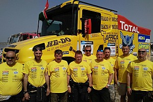 Cross-Country Rally BRÉKING A kategória 5. helyén végeztek a Qualisport Racing kamionosai