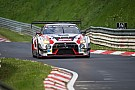 Endurance Nissan battles rivals and the weather in Nurburgring 24 Hour