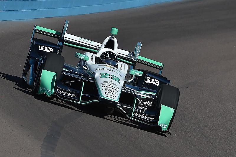 Simon Pagenaud on top in Phoenix