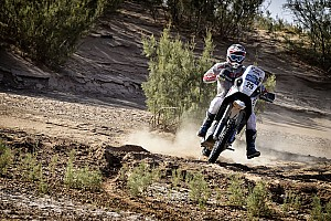 Cross-Country Rally Leg report Merzouga Bikes, Stage 4: Hero's Rodrigues improves as Benavides takes lead