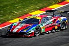 WEC Ferrari 488 GTE monopolises the front row at Spa
