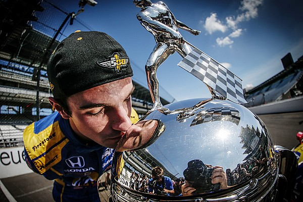 IndyCar Alexander Rossi, Indy's composed rookie winner