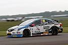 BTCC Thruxton BTCC: Ingram breaks lap record to clinch pole