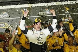 NASCAR Sprint Cup Race report Brad Keselowski fends off Busch brothers, wins at Daytona
