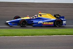 IndyCar Practice report Rossi tops pre-qualifying practice