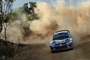 WRC Stage report Italy WRC: Ogier takes lead in Thursday Super Special