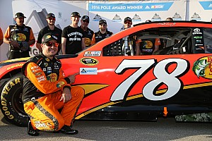 NASCAR Sprint Cup Interview Truex would like to stay with Furniture Row
