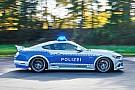 Auto Une Ford Mustang tunée pour la police allemande